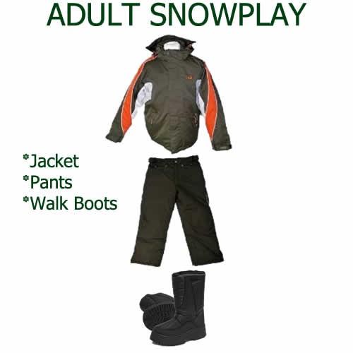 Adult Snowplay Package