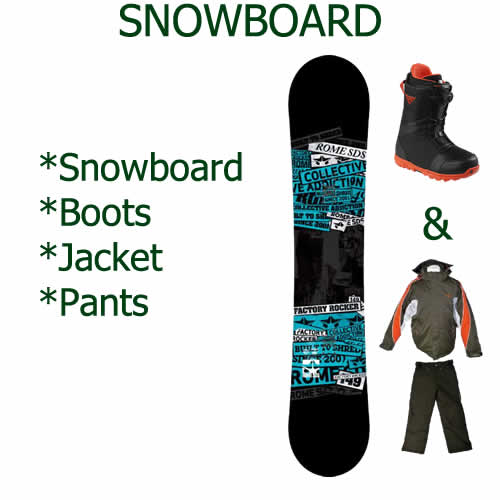 Snowboard Packages Jindabyne