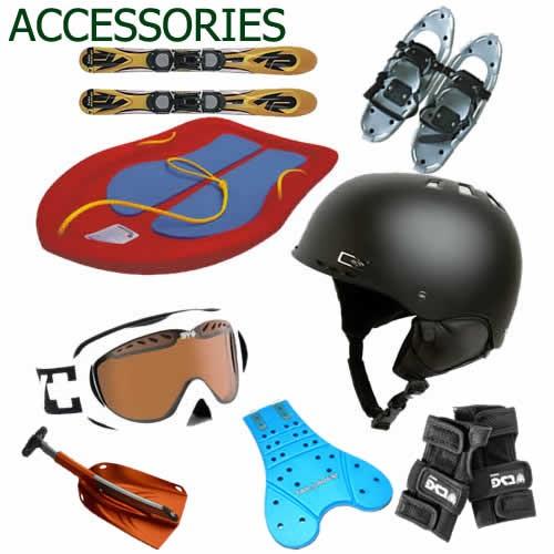 Hire snow accessories