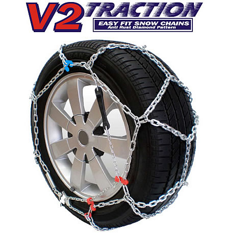 V2 Traction Diamond Snow Chains