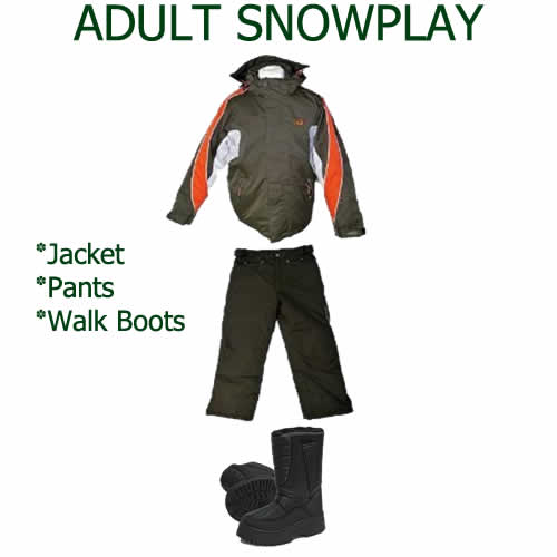 Adult Snowplay Package