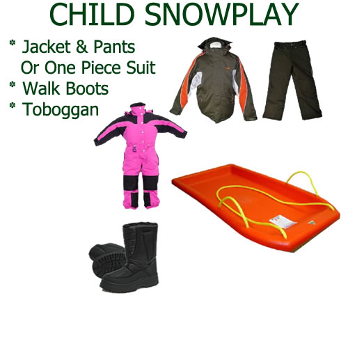 Child Snowplay Package