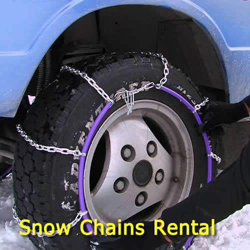 Hire Easy Fitting Snow Chains Bp Jindabyne