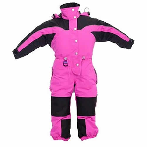 Kids One Piece Snow Suit