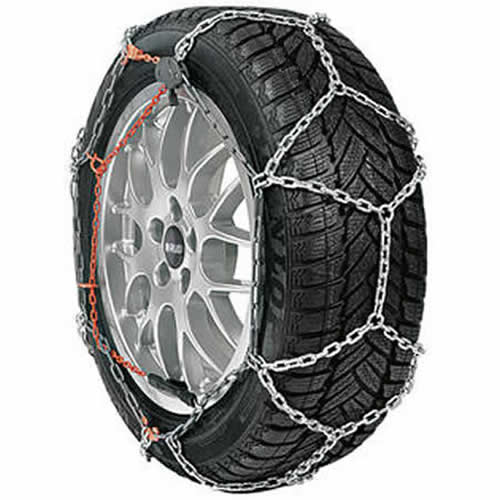 Hoop and Diamond Snow Chains