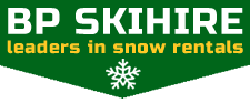BP Ski Hire Logo