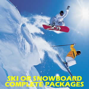 ALL INCLUSIVE SKI OR SNOWBOARDING PACKAGES - ADULTS & KIDS