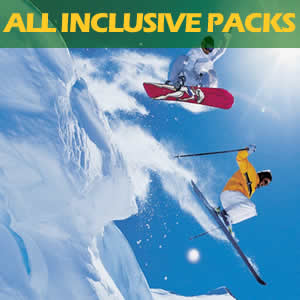 All inclusive ski - snowboard - snow play packages