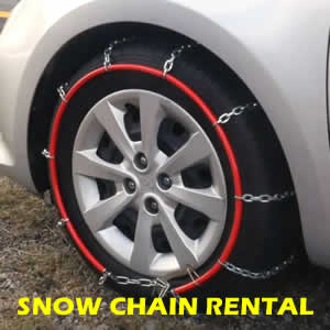 HIRE SNOW CHAINS IN JINDABYNE AUSTRALIA