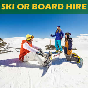 Great deals on skis, boots, poles or snowboard and boots hire for adults